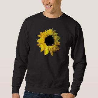 Yelloq Sunflower Closeup Mens Sweatshirt