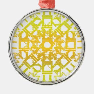 Yellow 101STAR Christmas Ornament