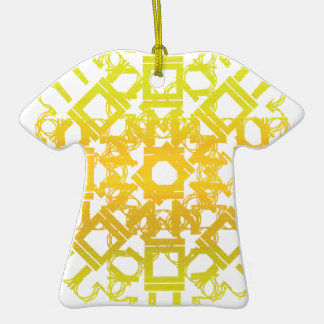 Yellow 101STAR Christmas Tree Ornament