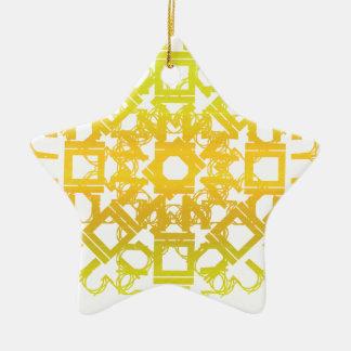 Yellow 101STAR Christmas Ornaments