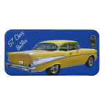 Yellow 1957 Chevrolet BelAir iPhone 5/5s Case