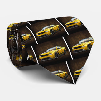 Yellow 2012 Boss 302 Neck Tie