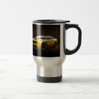 Yellow 2012 Boss 302 Travel Mug