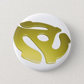 Yellow 3D 45 RPM Adapter Button