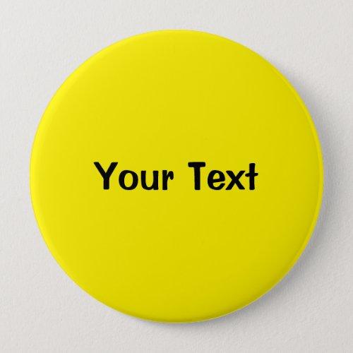 Yellow 4 Custom Text Button Template