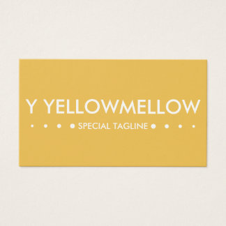 YELLOW 4dots Business Card