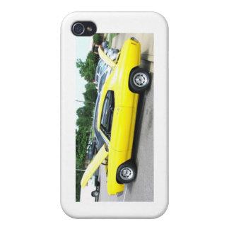 Yellow 72 Chevelle iPhone 4/4S Cases