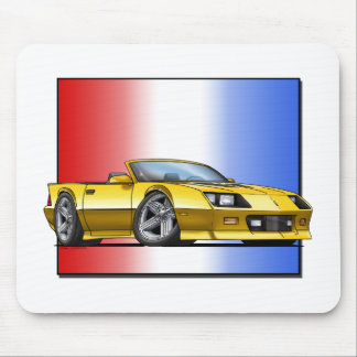 Yellow_80s_Convt Mouse Pad