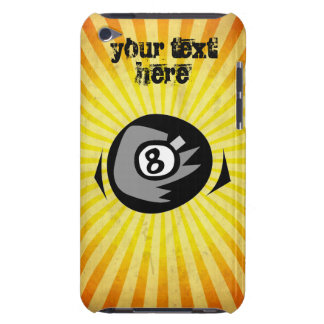 Yellow 8 ball barely there iPod cover