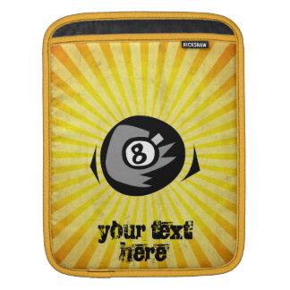 Yellow 8 ball sleeve for iPads