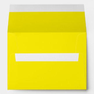 Yellow A7 Envelope