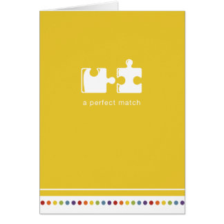 Yellow | A Perfect Match Card