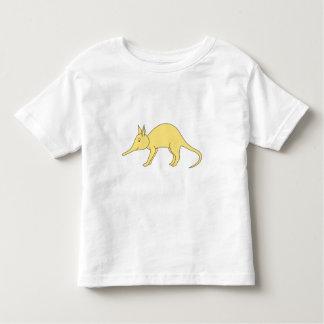 Yellow Aardvark. Cute Cartoon Animal Shirts