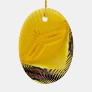 Yellow Abstract 2 ~ ornament