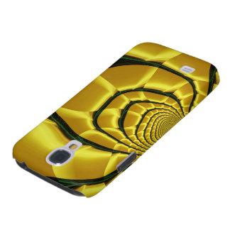 Yellow Abstract Art HTC Vivid Case