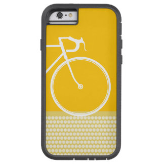 yellow Abstract Bicycle dots Tough Xtreme iPhone 6 Case