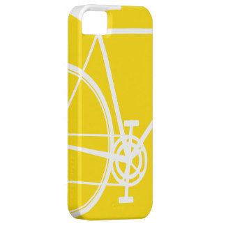 Yellow Abstract Bicycle iPhone 5 Case