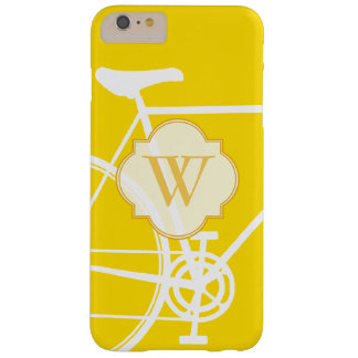 Yellow Abstract Bicycle iPhone 6 Case