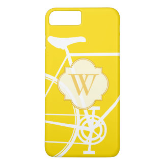 Yellow Abstract Bicycle iPhone 7 Case