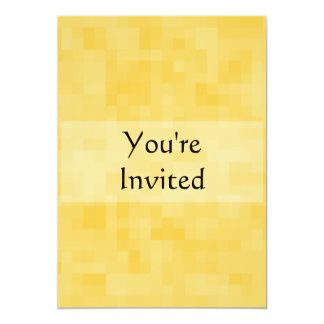 Yellow Abstract Design. 5x7 Paper Invitation Card