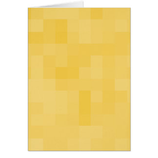 Yellow Abstract Design. Greeting Card