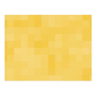 Yellow Abstract Design. Postcard