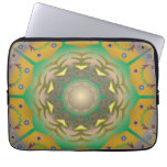 """Yellow Abstract Laptop Sleeve 13"""" Laptop Sleeves"""
