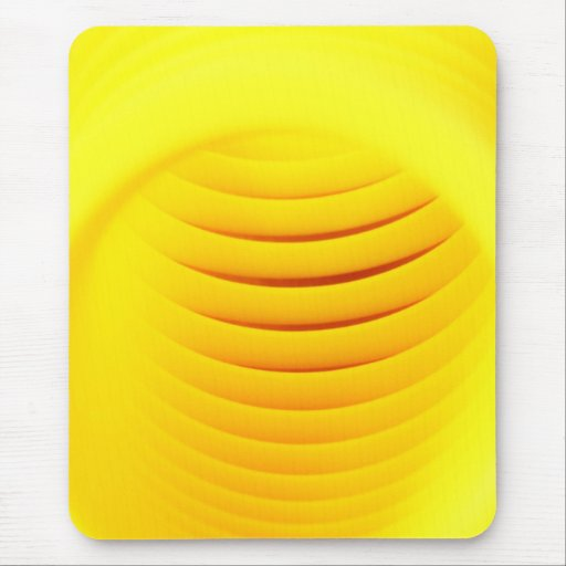 Yellow Abstract Mousepads