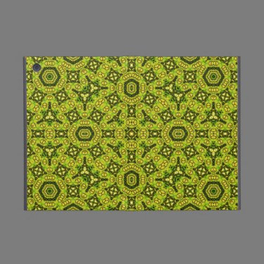 Yellow abstract Pattern Case For iPad Mini