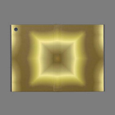 Yellow abstract pattern iPad mini case