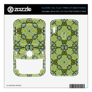 Yellow Abstract Pattern ALCATEL Tribe Skin