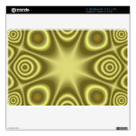 Yellow abstract pattern skin for the MacBook