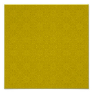 Yellow abstract wood pattern poster