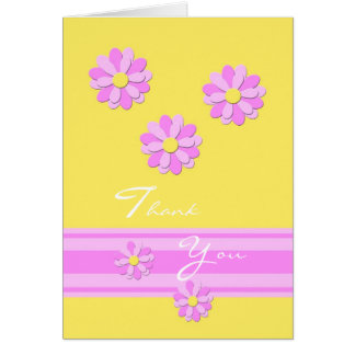 Yellow Administrative Professionals Day Card