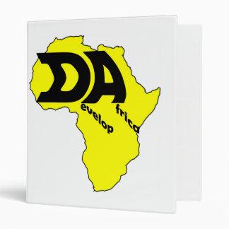 Yellow Africa Binder