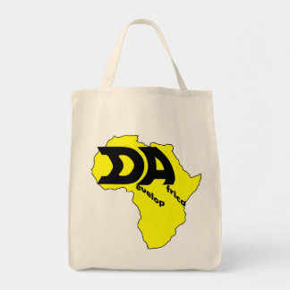 Yellow Africa Canvas Bag