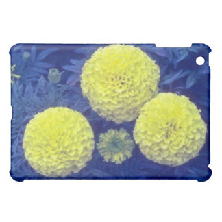 yellow African Marigold (Tagetes Erecta) flowers Cover For The iPad Mini
