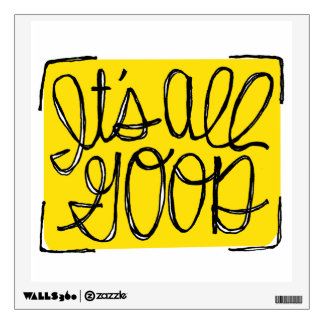 Yellow, All Good Wall Sticker