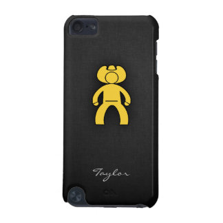 Yellow Amber Cowboy iPod Touch (5th Generation) Case