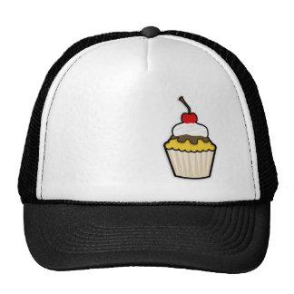 Yellow Amber Cupcake Trucker Hats