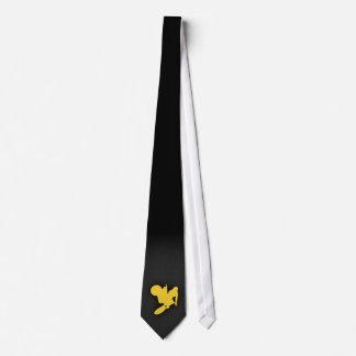 Yellow Amber Motocross Tie