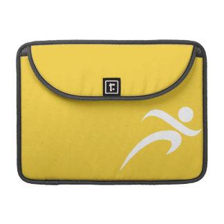 Yellow Amber Running Sleeve For MacBooks