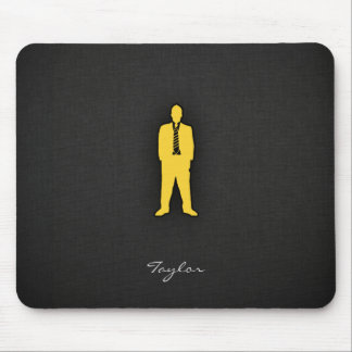 Yellow Amber swag Mouse Pad