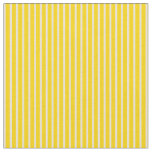 [ Thumbnail: Yellow and Bisque Colored Lines Fabric ]
