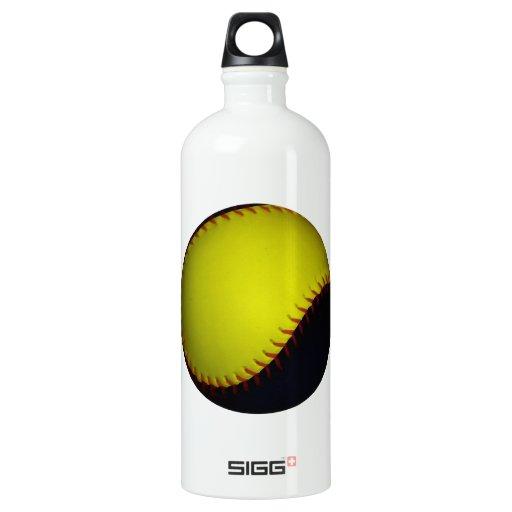 Yellow and Black Baseball / Softball SIGG Traveler 1.0L Water Bottle