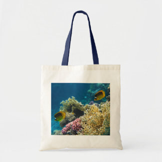 Yellow and Black Butterfly Fish Bags