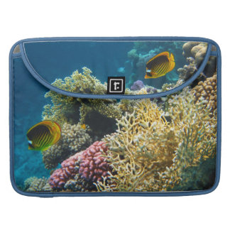 Yellow and Black Butterfly Fish Sleeve For MacBook Pro