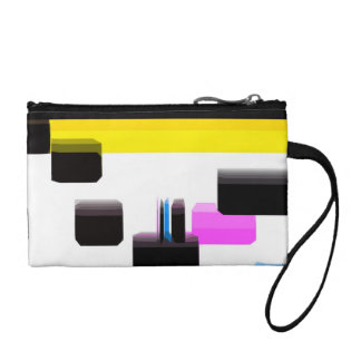 Yellow And Black Coin Purse