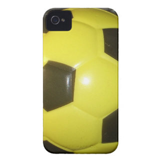 Yellow and black Football. iPhone 4 Covers