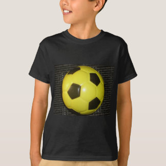 Yellow and black Football. T-Shirt